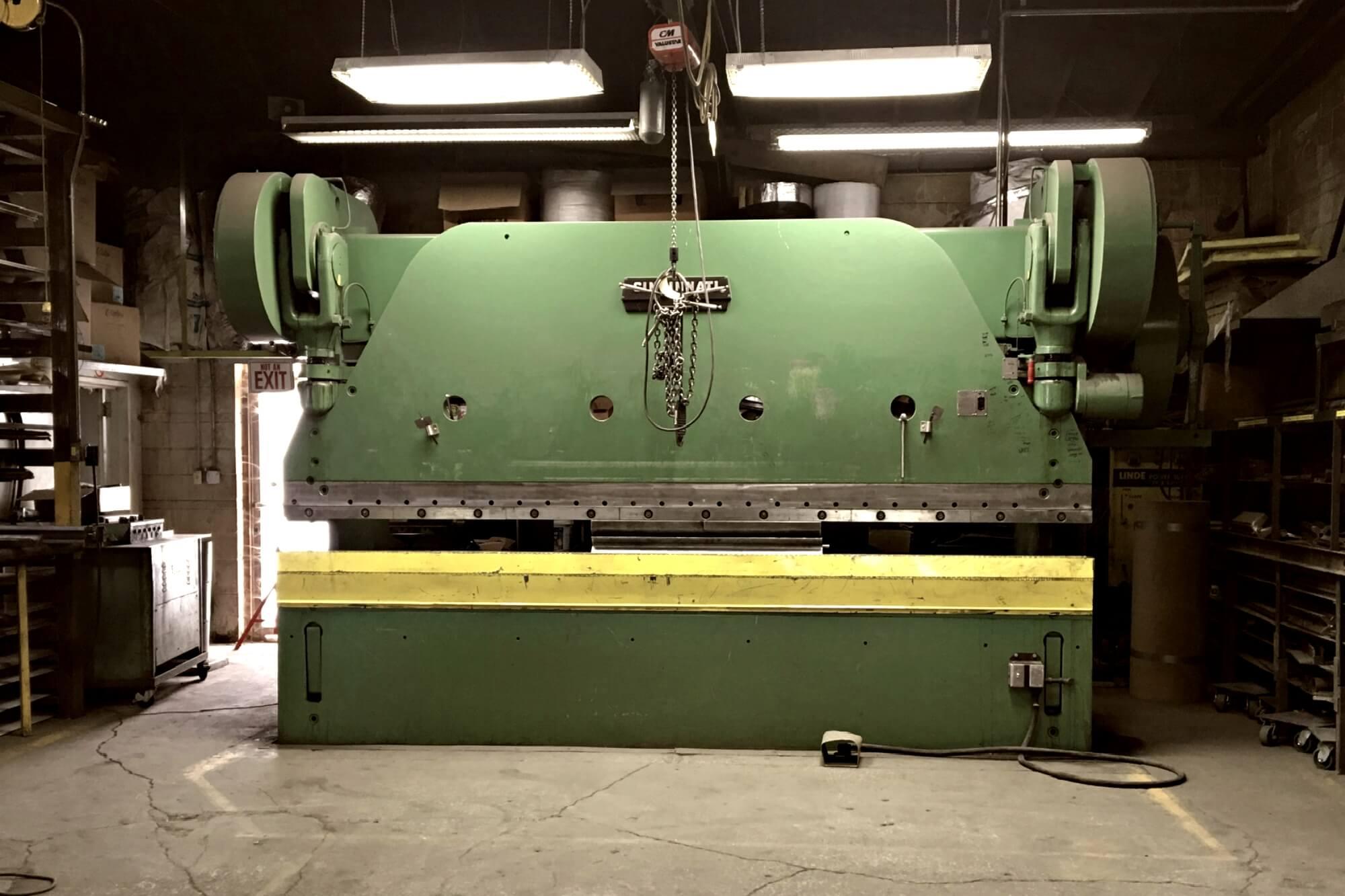 Press brake – Wil-Clair